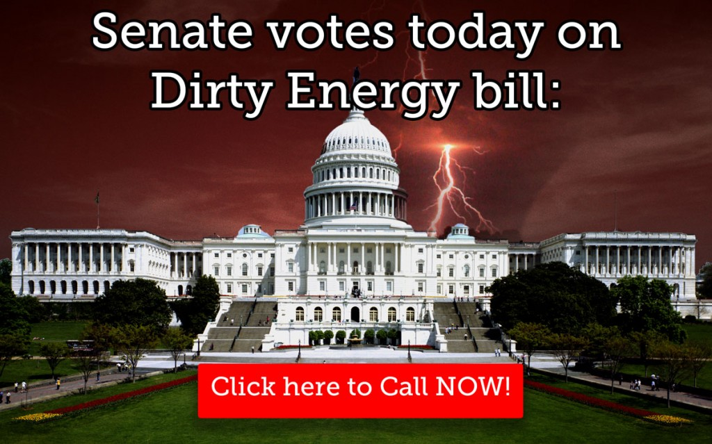 Senate Energy Bill vote