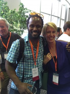 Anthony and Zephyr at netroots nation