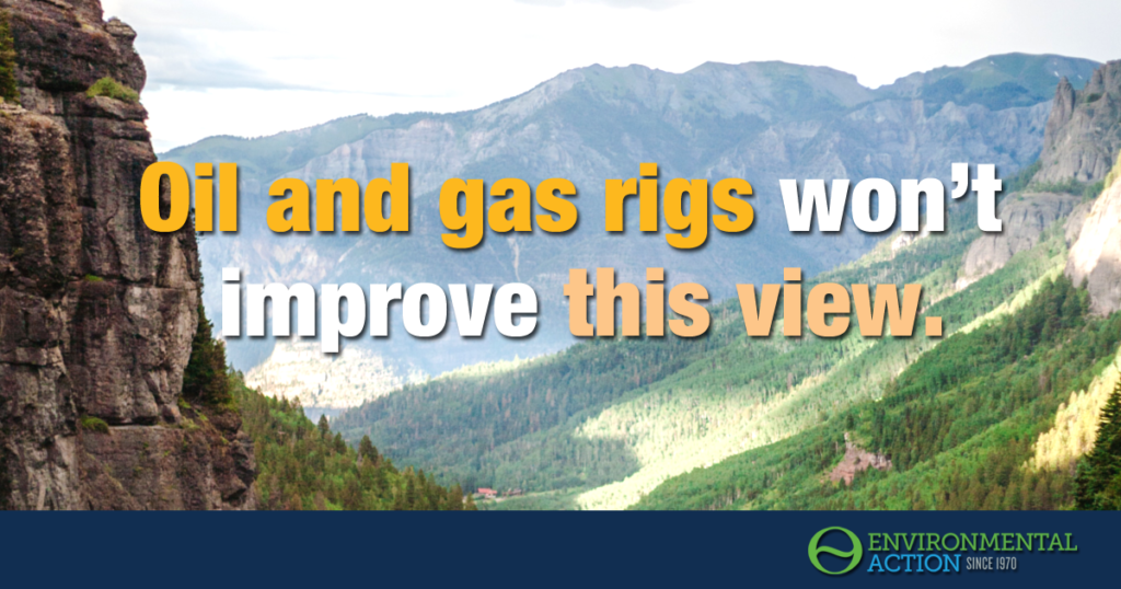 Our public lands don't need more or and gas wells
