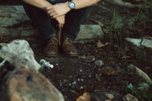 Environmental Action Shares: hiking boots (Photo: Hannah Morgan via Unsplash)