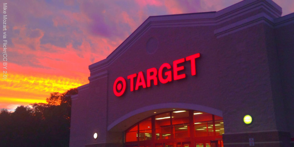 campaign update: Target storefront. Photo Mike Mozart via Flickr (CC BY 2.0)