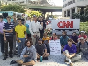 CNN Petition Delivery