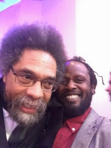 Anthony and Dr Corenell West