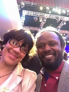 Flint Mayor Karen Weaver and Anthony