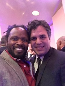 Anthony and Actor Mark Ruffalo