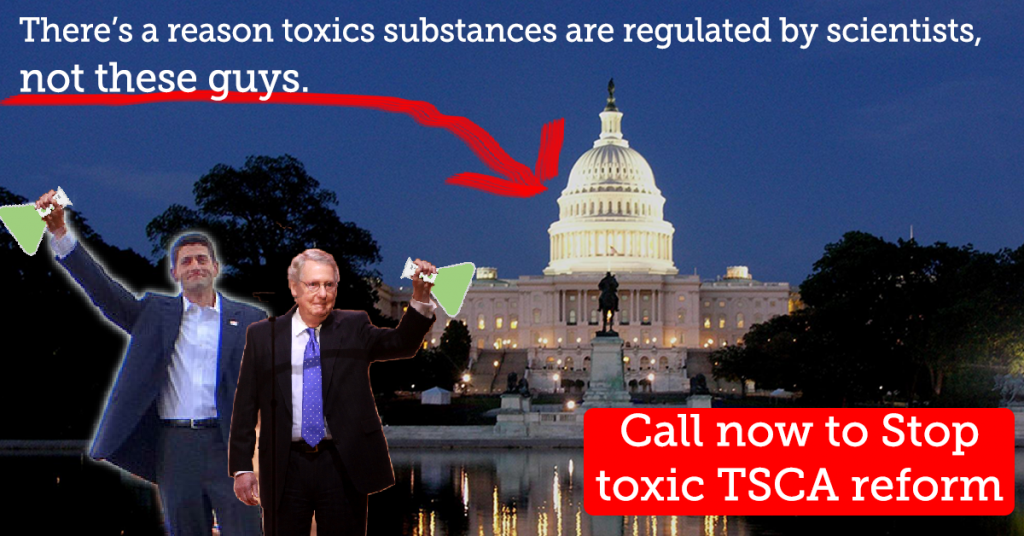 Call to Stop the Toxic TSCA bill