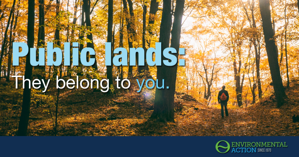 Public lands belong to you.