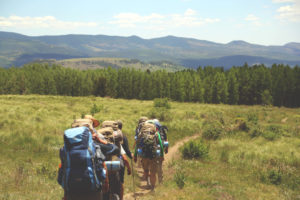 Environmental Action Shares: Hiking (Photo Sean Ban)