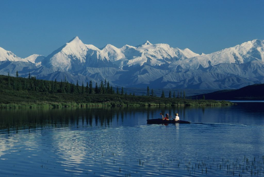 Canoeing at Denali National Park (Photo: NPS)