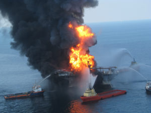 Offshore Drilling Dangers: The 2010 Deepwater Offshore Oil Disaster (Photo: US Coast Guard)