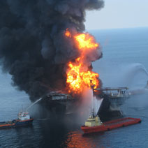 The BP Deepwater Horizon oil disaster proved the need for offshore drilling safety (Photo: US Coast Guard)