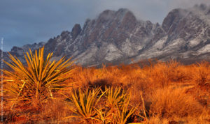 The jagged mountains of Organ Mountain - Desert Peaks National Monument outside Las Cruces, New Mexico (Photo: Bureau of Land Management