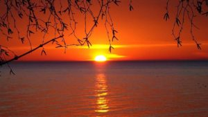 Great Lakes sunset (Photo: Pxhere.com)