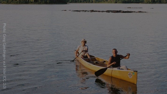 Boundary Waters Canoe and Wilderness Area (Photo: Greg Gjerdingen)