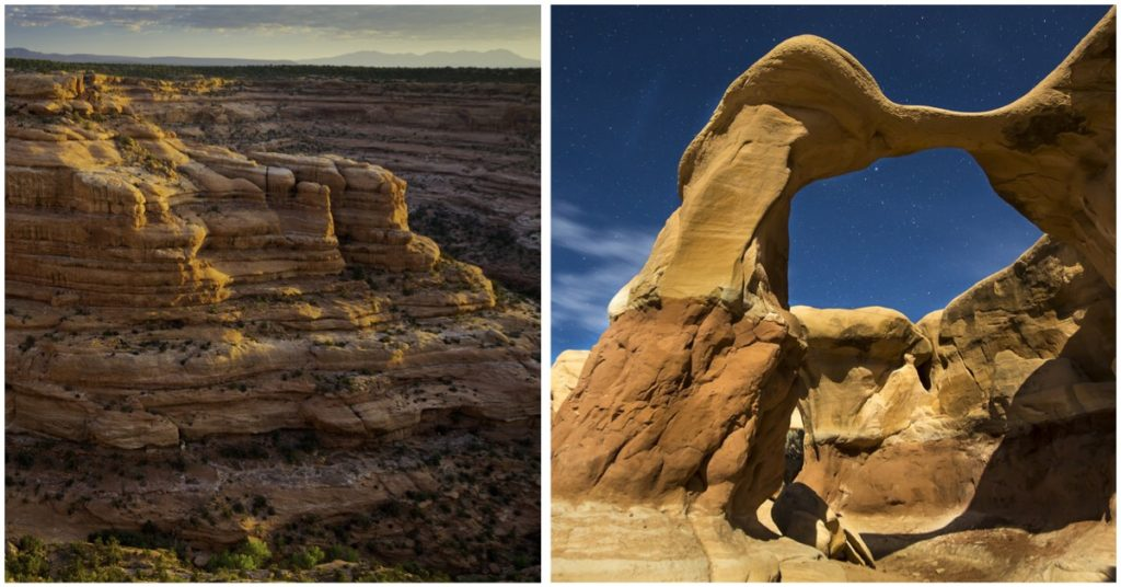 Bears-Ears and Grand Staircase-Escalante National Monuments (Photo: BLM)