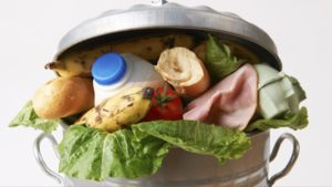 Food in garbage can. (Photo: USDA via Flickr)
